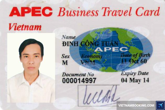 Thủ tục xin cấp thẻ APEC cho doanh nhân Việt Nam