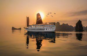 Tour du lịch Hạ Long 2N1Đ:Trải nghiệm du thuyền 4 sao The Vietbeauty