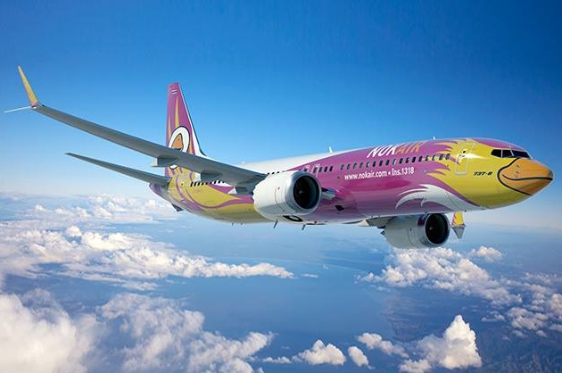 ve may bay gia re nok air