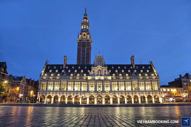 visa đi Bỉ công tác