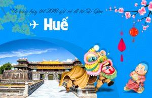 Giá vé máy bay tết 2018 Sài Gòn – Huế cập nhật mới nhất