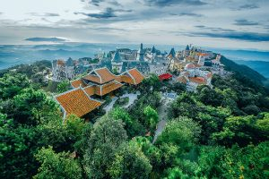 Có 4 mùa tươi đẹp ở Bà Nà Hills Đà Nẵng