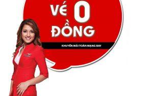 Vé 0 đồng AirAsia – Đặt ngay kẻo lỡ!