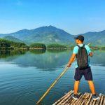 Check-in hồ Hòa Trung với vé máy bay Vietjet đi Đà Nẵng giá chỉ 199,000 VNĐ