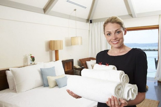 Tip cho nhân viên khách sạn
