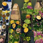 Vòng quanh Damnoen Saduak khu chợ nổi cổ nhất của Thái Lan