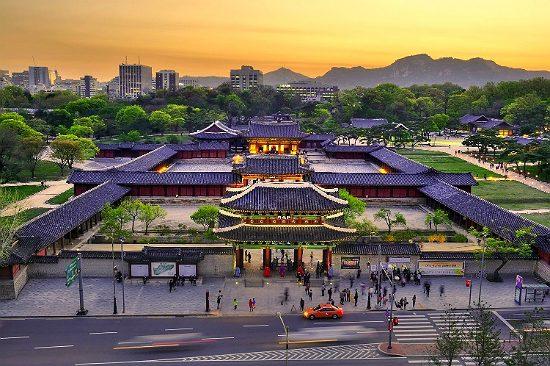 Cung điện Kyeongbok - tour du lịch Busan Hàn Quốc