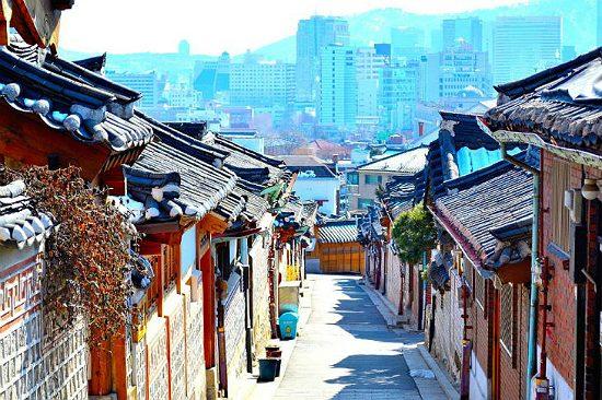 Bukchon Hanok - tour du lịch Hàn Quốc