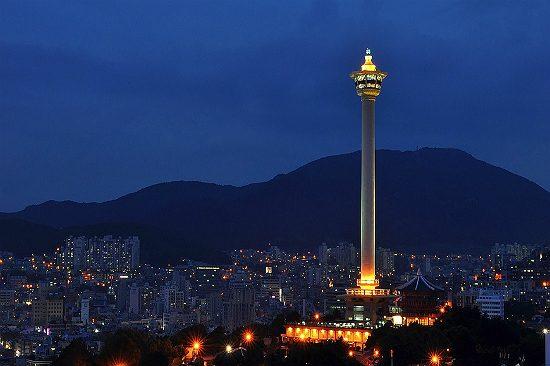 Tháp Busan - tour du lịch Busan Hàn Quốc