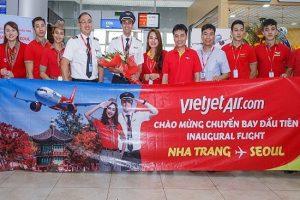 Vietjet Air tưng bừng khai trương chặng đường bay Nha Trang – Seoul