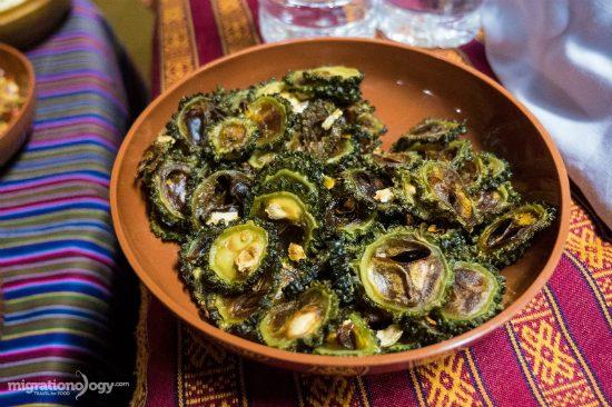 những món ăn được yêu thích của du lịch bhutan
