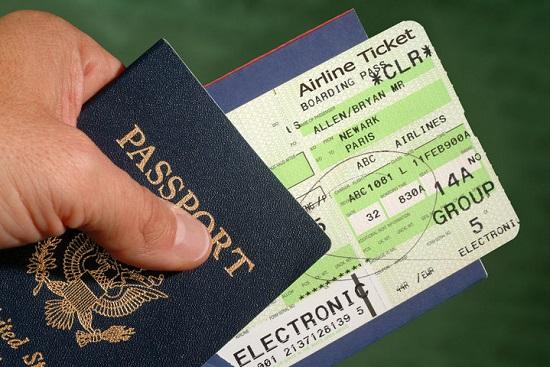 giấy tờ cần thiết khi bay chuyến quốc tế