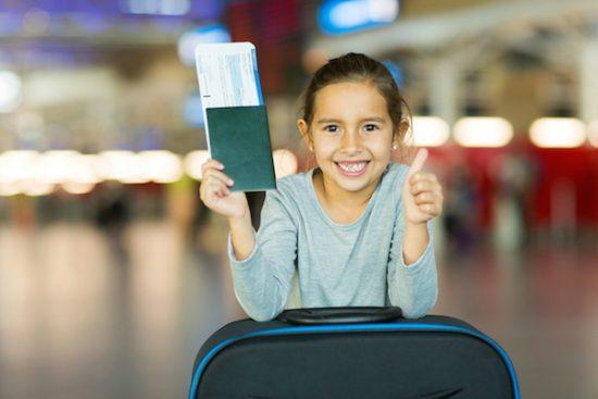 thủ tục xin cấp hộ chiếu cho trẻ em