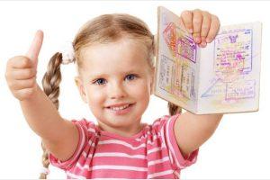 Xin cấp hộ chiếu cho trẻ em có khó không?