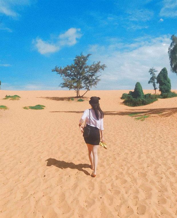 Đồi Cát Bay Phan Thiết