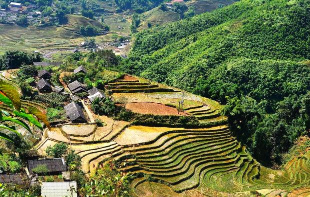 Tour Sapa Khám phá nét đẹp bản làng Cát Cát – Lao Chải – Tả Van