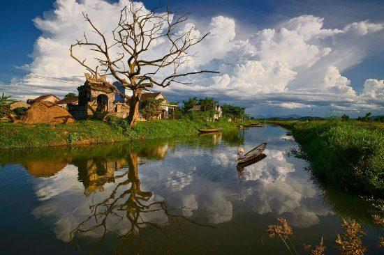 Tour du lịch Huế 2 ngày 1 đêm : Làng cổ Phước Tích– Phá Tam Giang