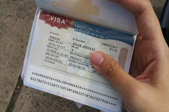 tự xin visa đi hàn quốc