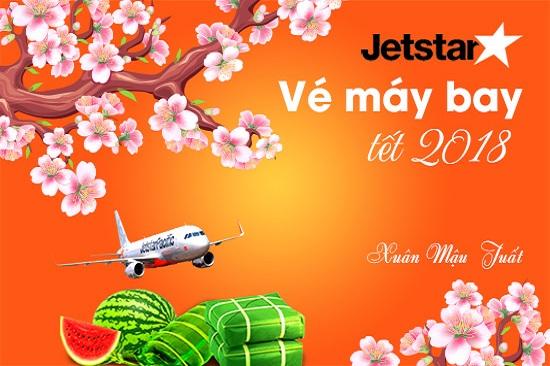 giá vé máy bay tết 2018 của jetstar
