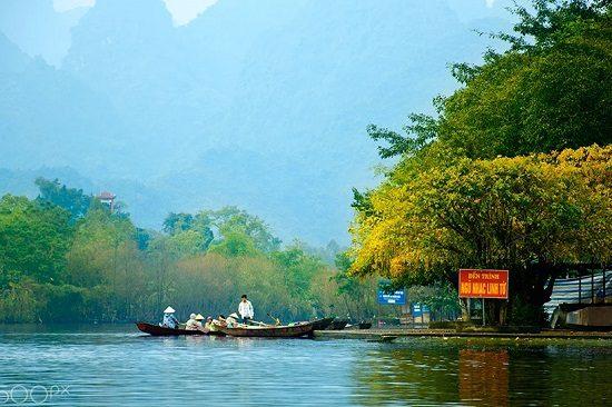 tư vấn kinh nghiệm du lịch chùa hương hà nội