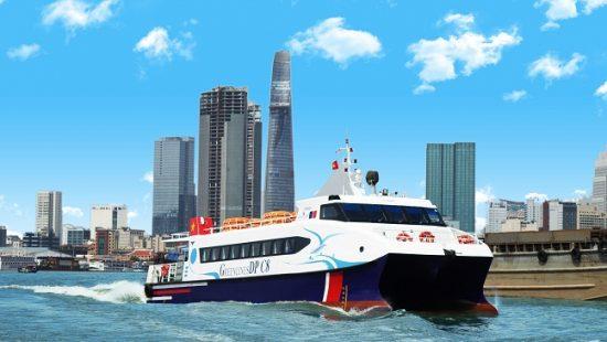 tuyến tàu cao tốc TPHCM - Cần Giờ - Vũng Tàu - Bến Tre