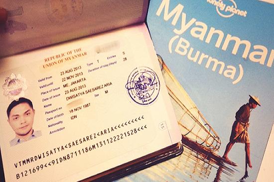 làm visa đi myanmar cho người nước ngoài