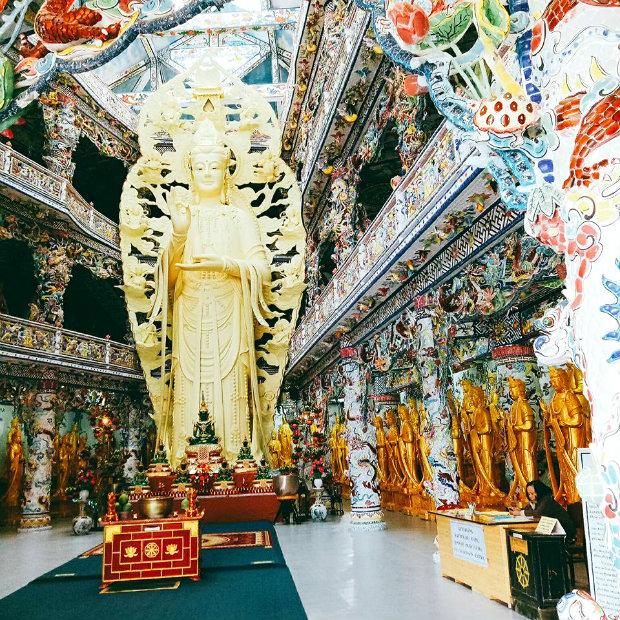 Chùa Linh Phước, Đà Lạt - tour du lịch đà lạt 4 ngày 3 đêm