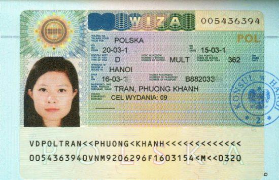 thủ tục xin visa đi ba lan lao động