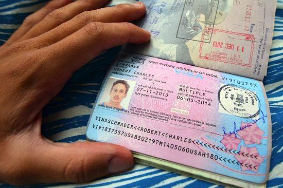 xin visa đi ấn độ online