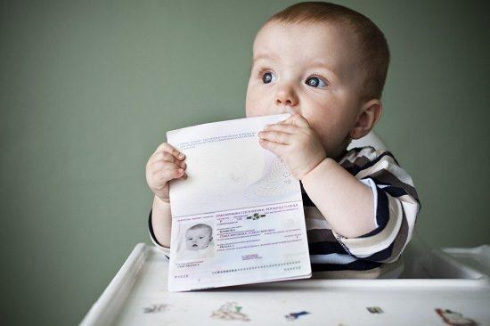 xin visa đi đài loan cho trẻ em