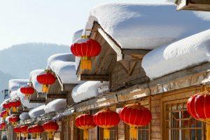 Làm nhanh visa đi Trung Quốc: Đến Cáp Nhĩ Tân thăm ngôi làng tuyết trắng