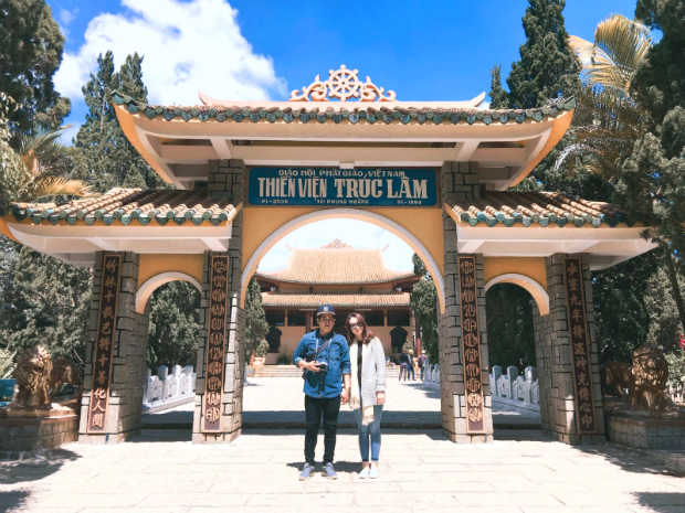 Thiền viện trúc lâm Đà Lạt - tour đà lạt 3 ngày 2 đêm