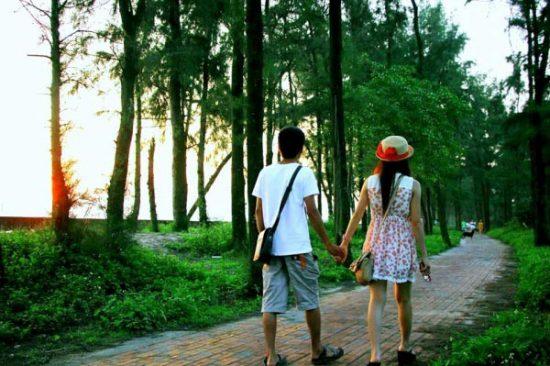 con đường tình yêu ở Cô Tô - Tour du lịch Cô Tô
