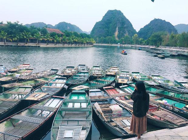 Tour du lịch Hoa Lư – Tam Cốc – Bái Đính – Tràng An 2 ngày 1 đêm