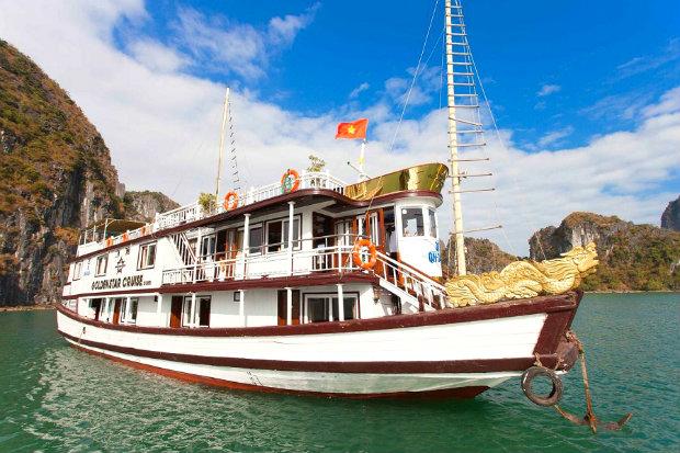 Tour du lịch Hạ Long 2 Ngày 1 đêm: Du Thuyền Golden Star 3*