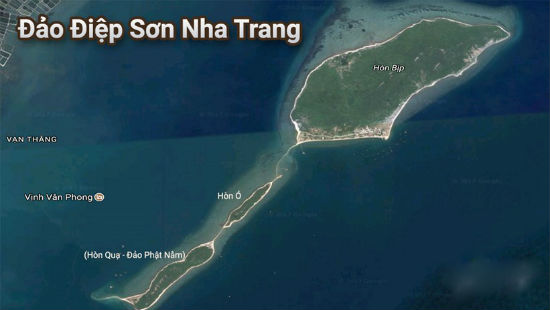 Địa chỉ đến hòn Đảo Điệp Sơn?