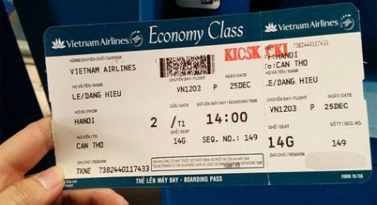 Hoàn vé từ hãng Vietnam Airlines