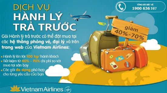 Hành lý trả trước của Vietnam Airlines