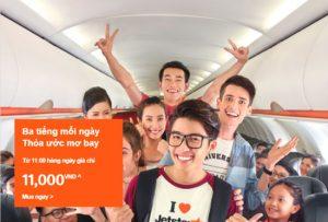 11h rồi! Săn vé rẻ Jetstar du lịch thế giới chỉ từ 11,000 VNĐ