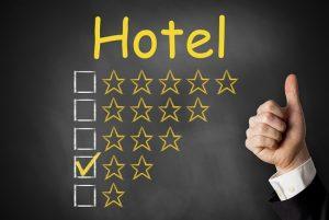 Tiêu chí nào để xếp hạng sao khách sạn quốc tế và trong nước?