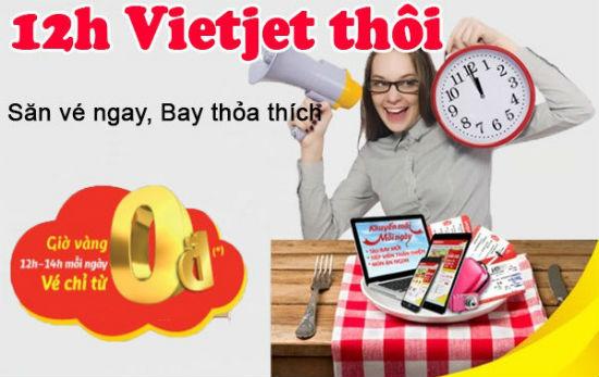 Khuyến mãi Vietjet Air