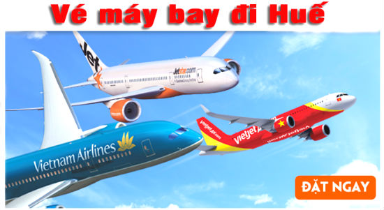 Chỉ từ 580,000 VNĐ có ngay vé máy bay đi Huế tháng 6/2018