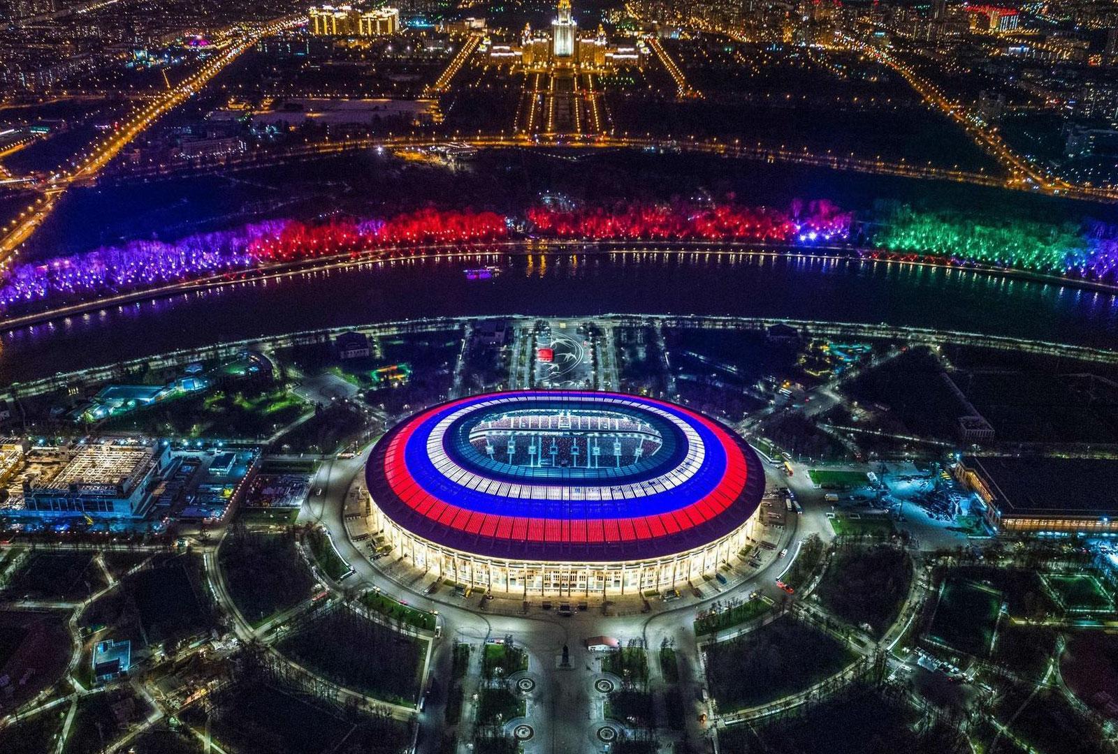 Dạo một vòng 12 sân vận động tổ chức World Cup 2018
