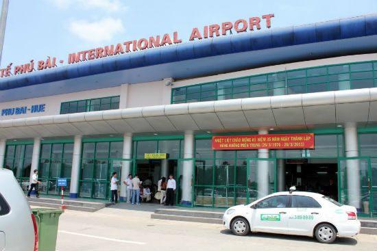 Thông tin về sân bay Phú Bài
