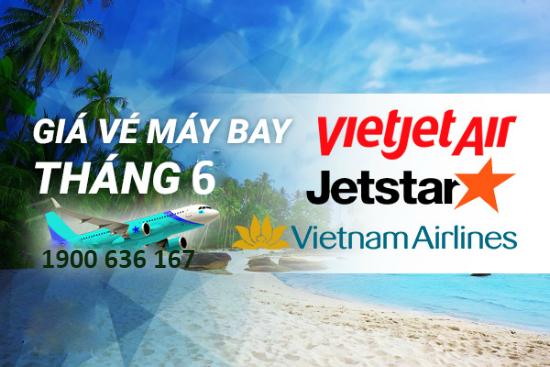 Giá vé máy bay Hà Nội Sài Gòn tháng 6 có gì hot?