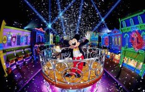 Du lịch Hồng Kông hè 2018 :  Lộng lẫy lễ hội Carnival tại Disneyland
