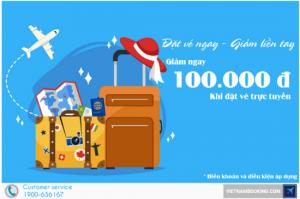 Hot! Mua vé máy bay tại Vietnam Booking có ngay Voucher giảm giá liền tay