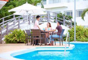 Không chỉ khách sạn, Nhật Bản còn có resort gần đảo Ishigaki cực yêu