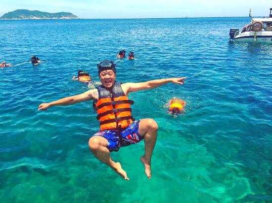 lặn biển ở cù lao chàm - tour du lịch đà nẵng 3 ngày 2 đêm