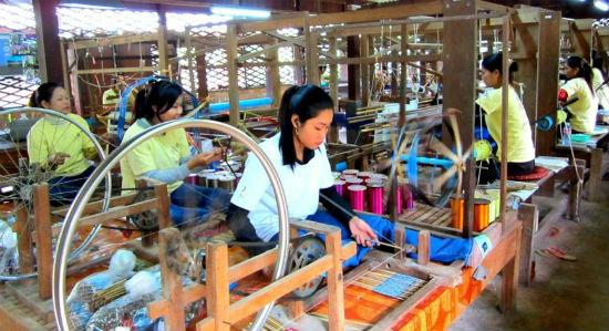trang trại lụa Siem Reap